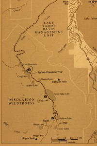 MAP to Tallant Lakes