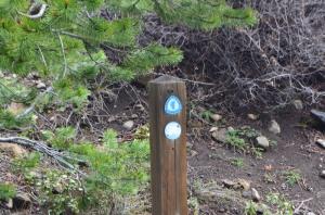 TRTrail sign