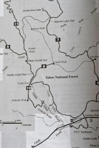 Castle Peak Trail Directions