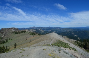 View top Donner crest