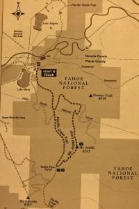 Map Mt. Judah loop